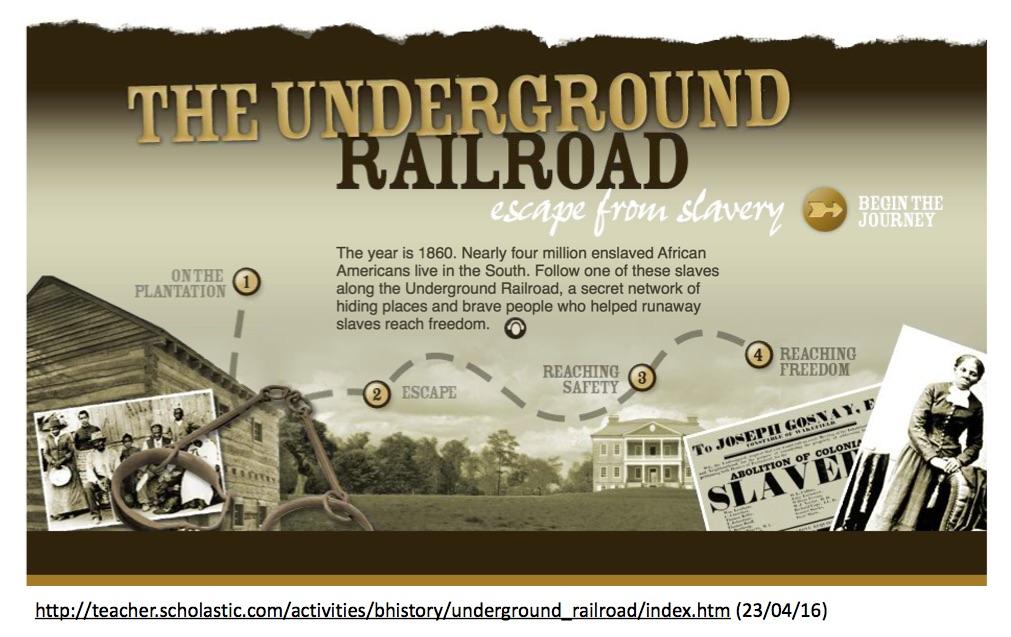 Bild underground railroad